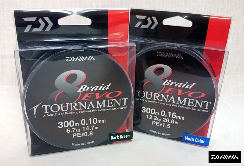 daiwa tournament 8